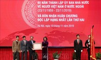 State Committee for Overseas Vietnamese receives second First-class Independence Order