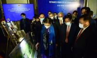 Photo exhibit spotlights women's role in bomb, mine aftermath settlement