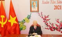 Laos congratulates success of Vietnam's National Party Congress