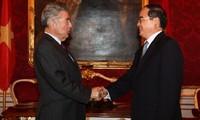 Österreichs Präsident zu Gast beim Unternehmensforum beider Länder