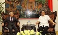 Vize-Premierminister Hai trifft IAEA-Vize-Präsident Flory