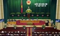 Parlamentssitzung im Geist von Reform und Demokratie