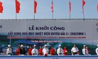 Vize-Premierminister Hoang Trung Hai startet den Bau des Kraftwerks Duyen Hai