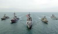 Internationale Marineübung im persischen Golf