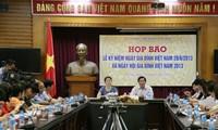 Feier zu Ehren der vietnamesischen Familien