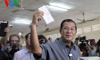 Vorläufiges Ergebnis der Parlamentswahl in Kambodscha
