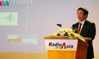 Eröffnung der RadioAsia Konferenz