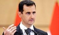 Der syrische Präsident will den Terror bekämpfen