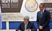 USA unterzeichnen UN-Vertrag zur Regulierung des Waffenhandels