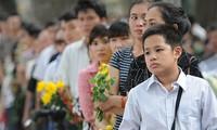 Die Vietnamesen betrauern den Tod von General Vo Nguyen Giap