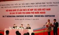 Abschluss der internationalen Konferenz für Nichtregierungsorganisationen