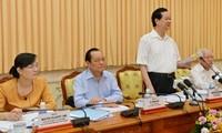 Premierminister Nguyen Tan Dung tagt mit Behörden von Ho Chi Minh Stadt