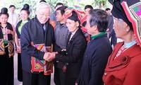 KPV-Generalsekretär Nguyen Phu Trong besucht die Provinz Son La