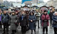 Die ukrainische Regierung setzt das Amnestiegesetz für Demonstranten um