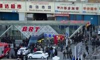 Drei Tote bei einem Terroranschlag im Bahnhof in Xinjiang