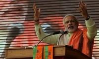 Narendra Modi wird BJP-Leiter im indischen Parlament und Regierungschef