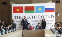 FTA-Verhandlungsrunde zwischen Vietnam und Zollunion von Russland, Weißrussland und Kasachstan