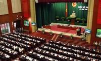 Beratung für das geänderte Gesetz zur Organisation des Parlaments