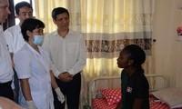 Das Gesundheitsministerium kontrolliert drei Studenten aus Nigeria