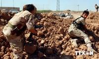 Kurdische Kämpfer aus dem Irak zum Einsatz gegen IS in Syrien