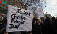 Historische Trauermärsche in Frankreich gegen Terrorismus