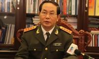 Regeln für die Zusammenarbeit in Sicherheit im Hochland Tay Nguyen unterzeichnen
