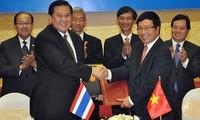 Sitzung der vietnamesisch-thailändischen Kommission für bilaterale Zusammenarbeit
