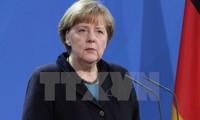 Vertrauen für Bundeskanzlerin Angela Merkel ist gesunken