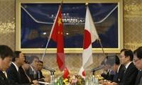 China und Japan wollen die bilateralen Beziehungen verbessern