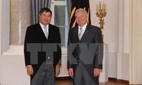 Der deutsche Bundespräsident freut sich über die guten bilateralen Beziehungen zu Vietnam