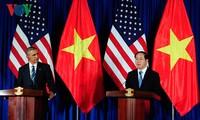 Die gemeisame Erklärung zwischen SR Vietnam und den USA
