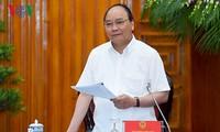 Premierminister Nguyen Xuan Phuc tagt mit Verwaltern der Provinz Ben Tre