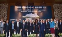 Anpassung der wirtschaftlichen Forcierung im Mekong-Delta an den Klimawandel