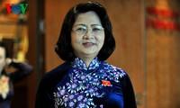 Vizestaatspräsidentin Dang Thi Ngoc Thinh empfängt Delegation der Agent Orange-Opfer