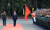 Staatspräsident Tran Dai Quang tagt mit bewaffneten Streitkräften in Ho Chi Minh Stadt