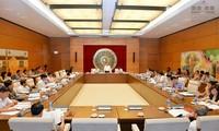 Eröffnung der Sitzung des Rechtsausschusses des Parlaments