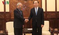 Staatspräsident Tran Dai Quang empfängt den Leiter von UNDP in Vietnam