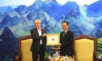 Der Generalsekretär der kommunistischen Partei Italiens besucht die Provinz Ha Giang