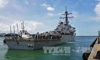 Die USA bestätigen den Fund der Leiche im Lenkwaffenzerstörer USS John McCain