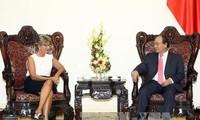 Premierminister Nguyen Xuan Phuc empfängt die spanische Botschafterin