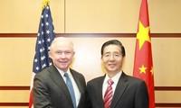 China und die USA fördern die Zusammenarbeit in den Bereichen Drogenbekämpfung und Cyber-Sicherheit