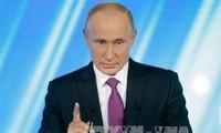 Der russische Präsident hebt den Einfluss der Oktober-Revolution hervor