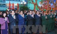 """Gedenkfeier zum 45. Jahrestag des Sieges """"Hanoi- Dien Bien Phu in der Luft"""""""