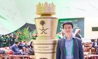 Der vietnamesische Schachspieler Le Quang Liem steht an der 23. Stelle der Weltrangliste