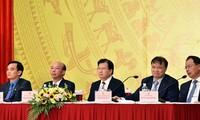 Konferenz über die Aufgaben im Jahr 2018 des vietnamesischen Bergbau- und Bodenschätze-Konzerns