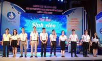 Finale und Preis-Verleihung des Wettbewerbs für Leiter der Studenten in Ho Chi Minh Stadt