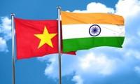 Die strategische, umfassende Partnerschaft zwischen Vietnam und Indien entwickelt sich rasant