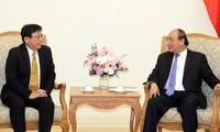 Premierminister Nguyen Xuan Phuc empfängt den Präsidenten des japanischen Sojitz-Konzerns