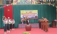 Bewahrung der Kultur der Volksgruppe Muong in der Schule im Kreis Thanh Son
