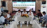 Gespräch über Maßnahme gegen Dürre und Versalzung im Mekong-Delta